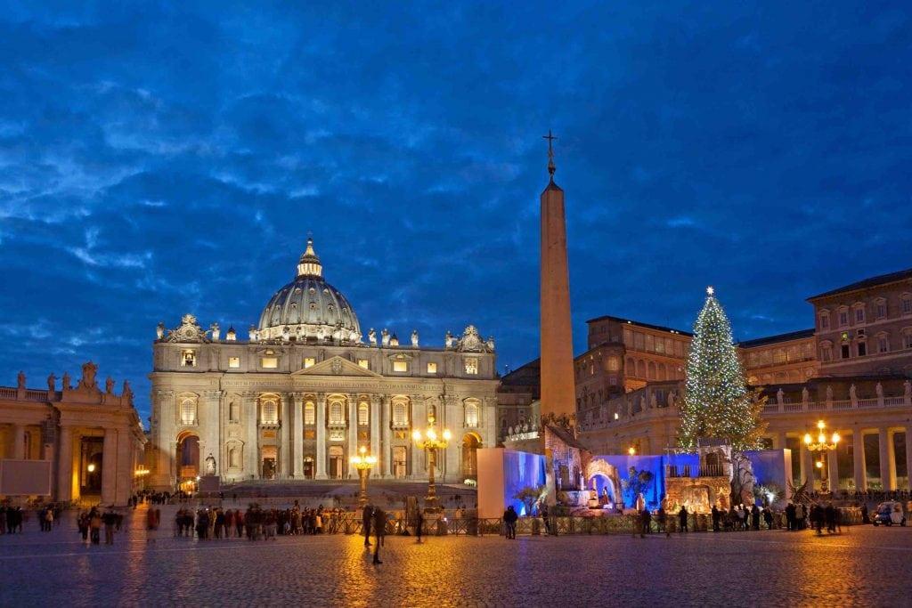 Natale a Roma abbinare l'acqua minerale ai piatti