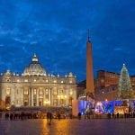 Natale a Roma: abbinare l'acqua minerale ai piatti