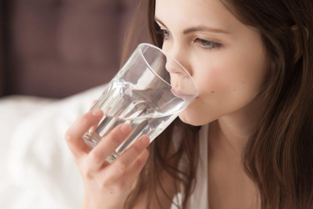 acqua per combattere la disidratazione