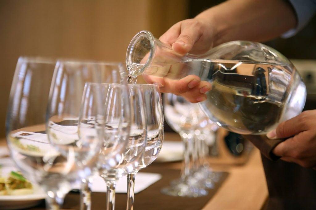 sapore dell'acqua parametri e criteri di classificazione