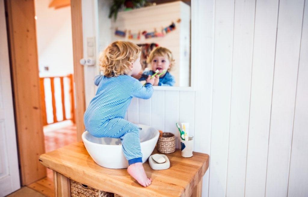 Fluoro e salute dei denti nei bambini