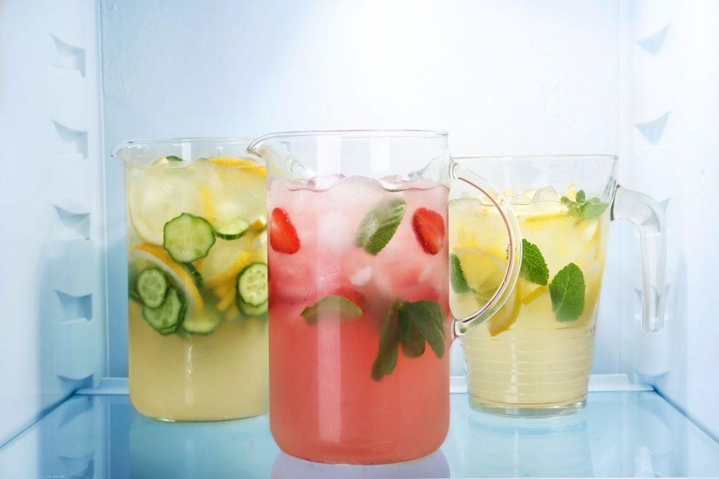 acqua aromatizzata energizzante
