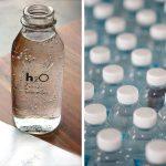 Acqua in plastica o in vetro